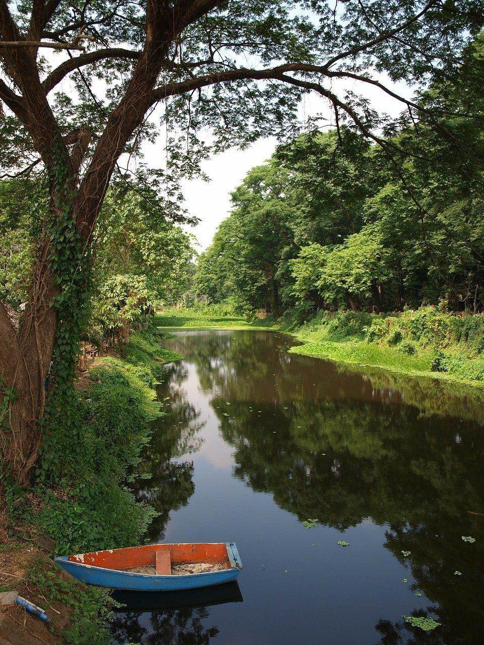 Equilibrio como el barco entre las 2 orillas de un río