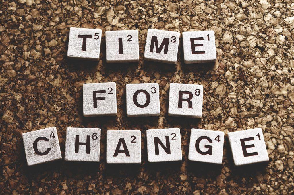 Tiempo para un cambio proactivo