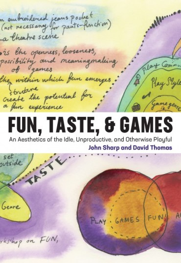 fun taste games book cover
