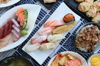 【台南美食】漁港鮮貨每日現場販售!現切生魚片,丼飯、握壽司平價美味:関ヶ原
