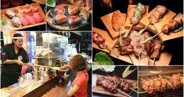 【台南美食】日本食材天天直送!晚來就吃不到的日式居酒屋,體驗木槳送餐的快感:奧尻爐端燒