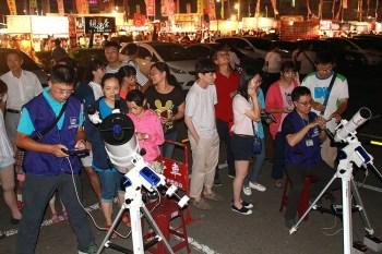 【免費活動】今晚賞月去,到花園夜市用手機拍月亮吧!南瀛天文館舉辦花開月正圓免費活動~