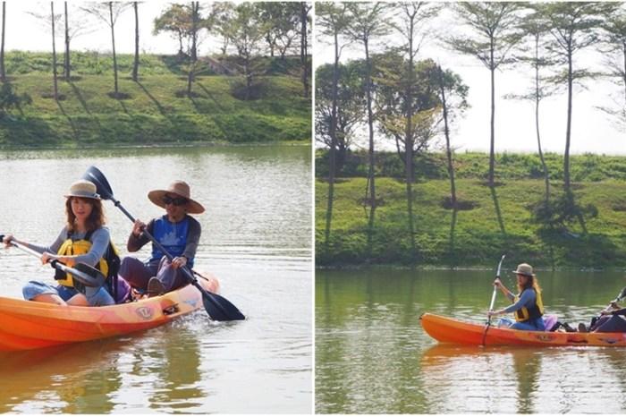 【台南景點】在濕地內體驗划獨木舟的快感,台南另類旅遊新玩法~