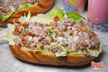 【台南美食】吃烤鴨太弱了,現在流行的是巨無霸烤鴨潛艇堡!全台南獨家販售:八方緣櫻桃烤鴨庄