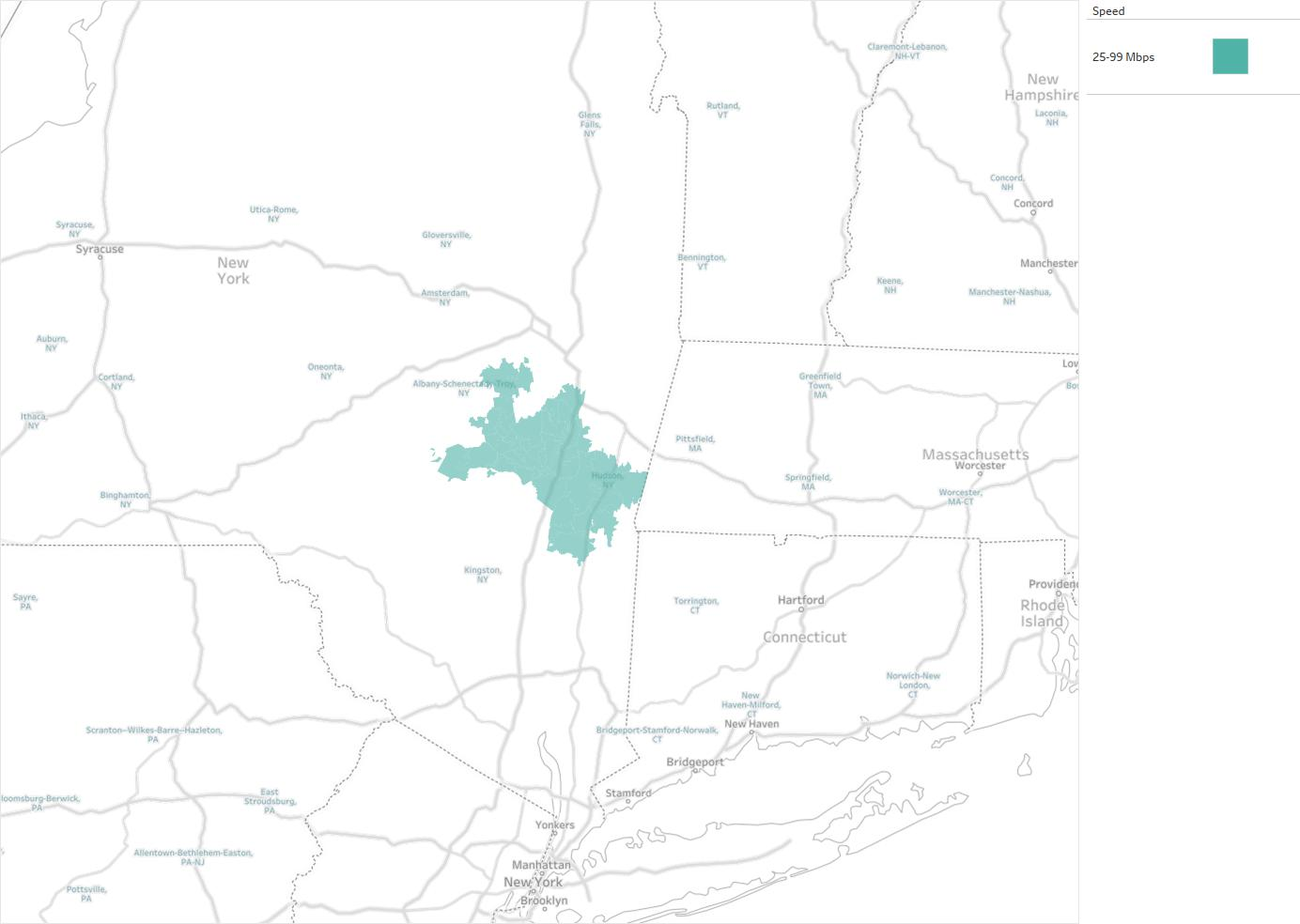 Mid-Hudson CableVision Availability Areas & Coverage Map