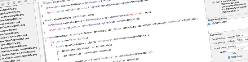 confronteer code