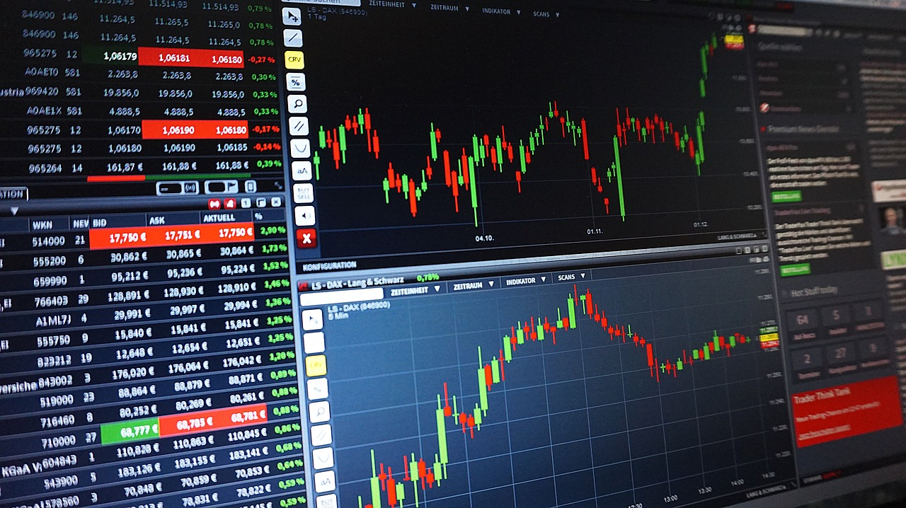 trading dashboard