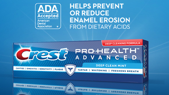 P&G Toothpaste Earns ADA Seal of Acceptance - Decisions in