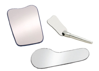 Occlusal and buccal mirrors for dental photography