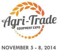 Agri-Trade Red Deer November 5-8th 2014