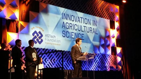 Decisive Farming wins ASTech Award for Innovation in Agricultural Science
