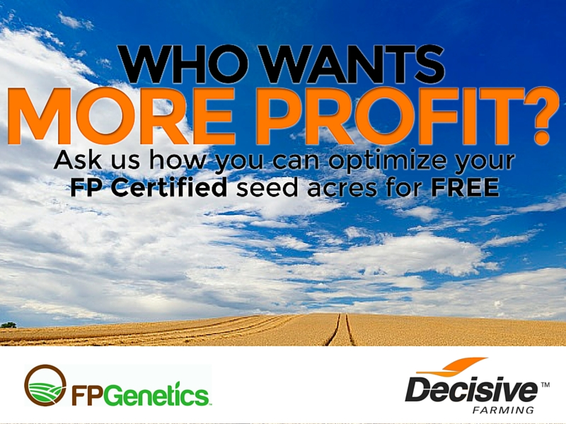 New offer for farms provides certified seed with a variable rate prescription