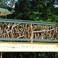 Branches make the most awesome deck railing deck railing ideas
