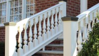 Grecian Urn Style Turned Balusters | Deck Railing Ideas