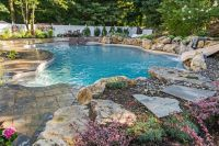 In-ground Pool with Spillover Spa: Theres More Than One ...