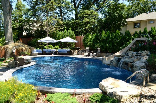 Small Backyard Oasis Swimming Pools