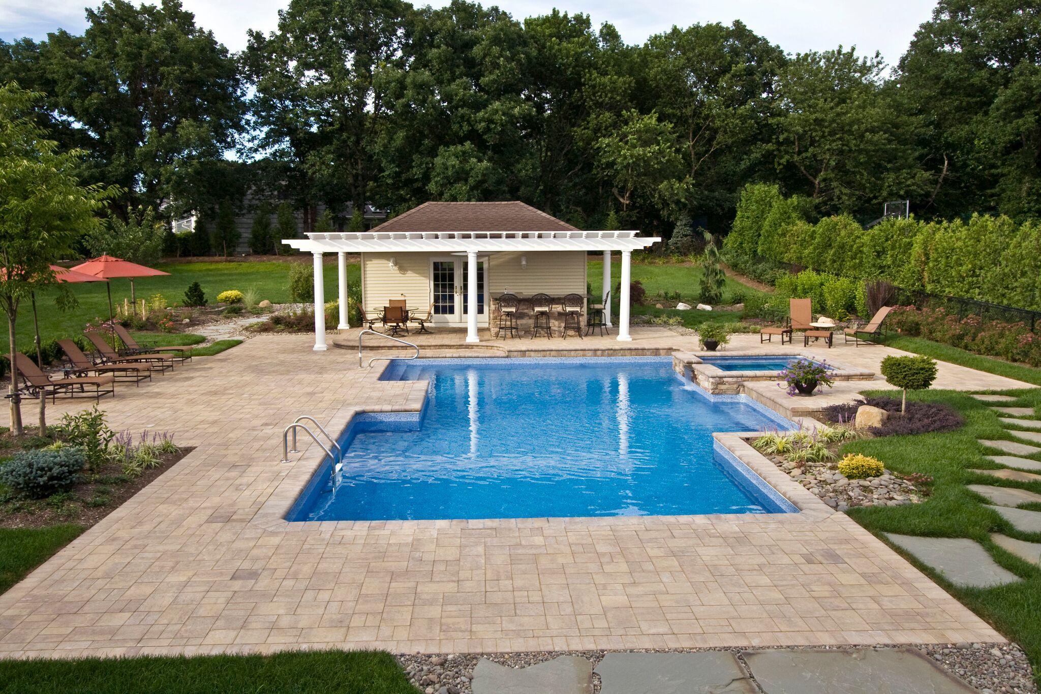 Custom Pool House The Deck And Patio Company