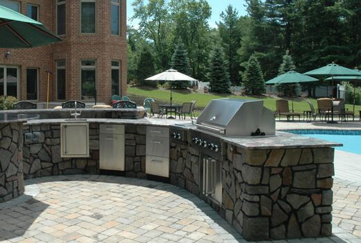 outdoor kitchen bar lighting fixtures kitchens the deck and patio company combo