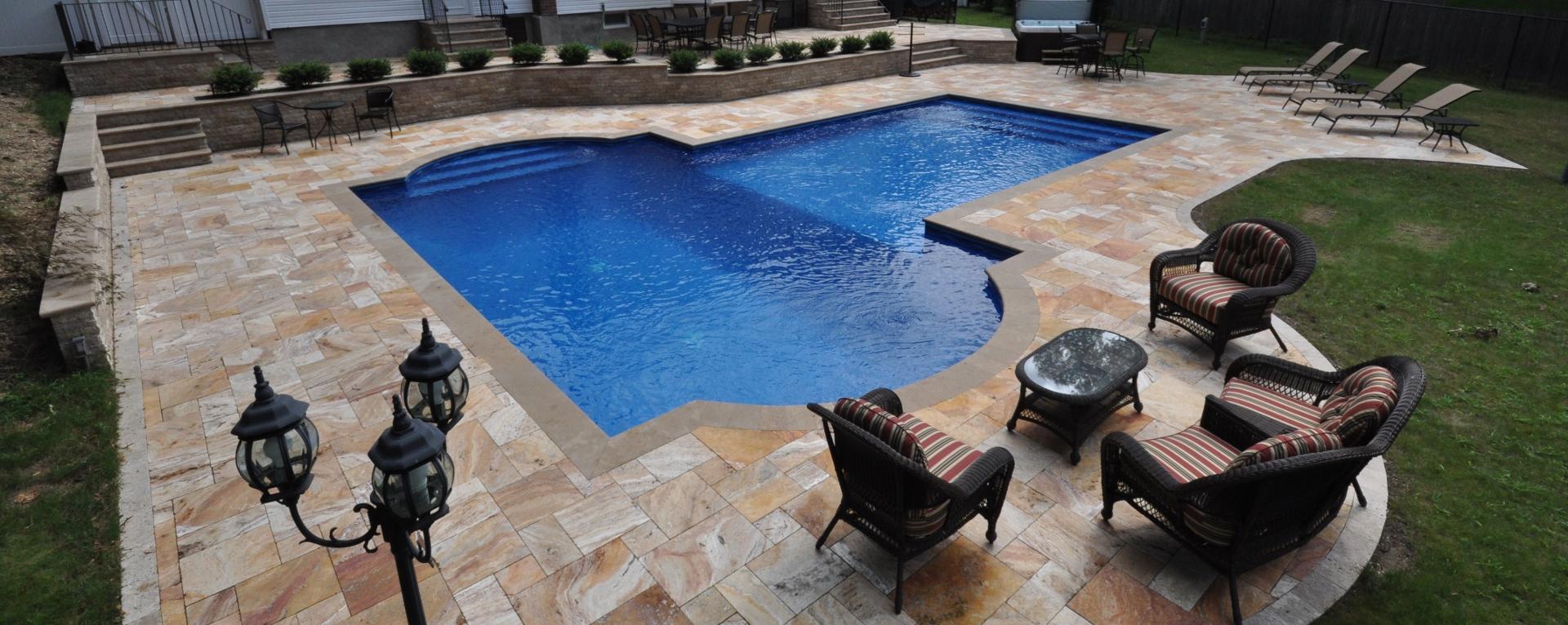 Pool pavers  Swimming pool decking  Coping  long Island