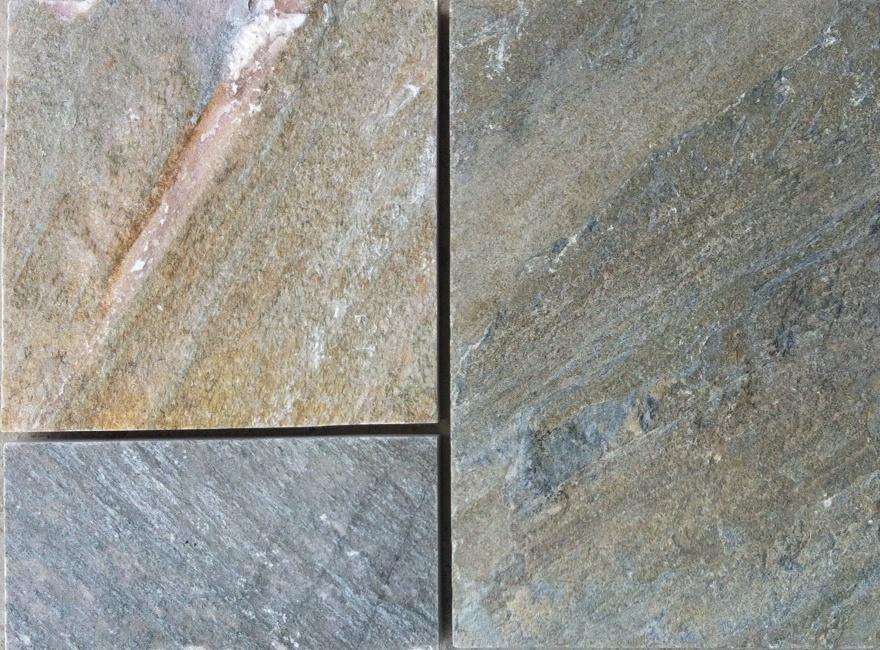 Quartzite Pavers  Countertops  Slabs  White  Stones