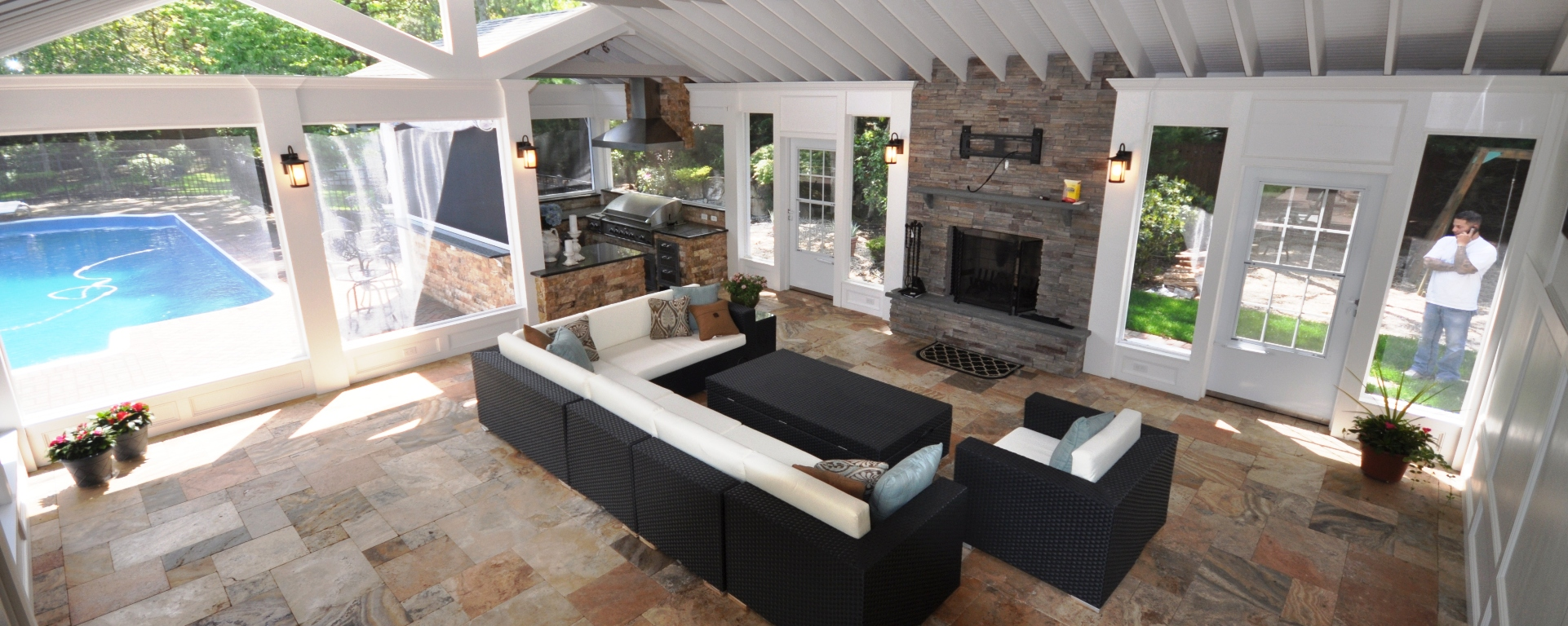 Home Remodeling   House Construction   Contractors   Company   Long Island NY.   Deck and Patio ...