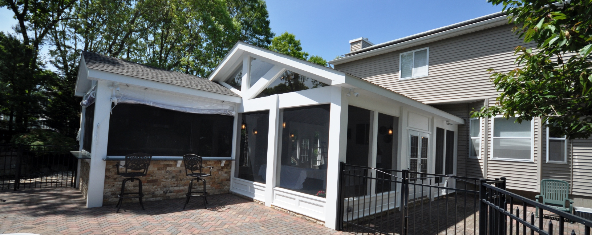 Sunrooms  Design  Additions  Long Island NY  Deck and