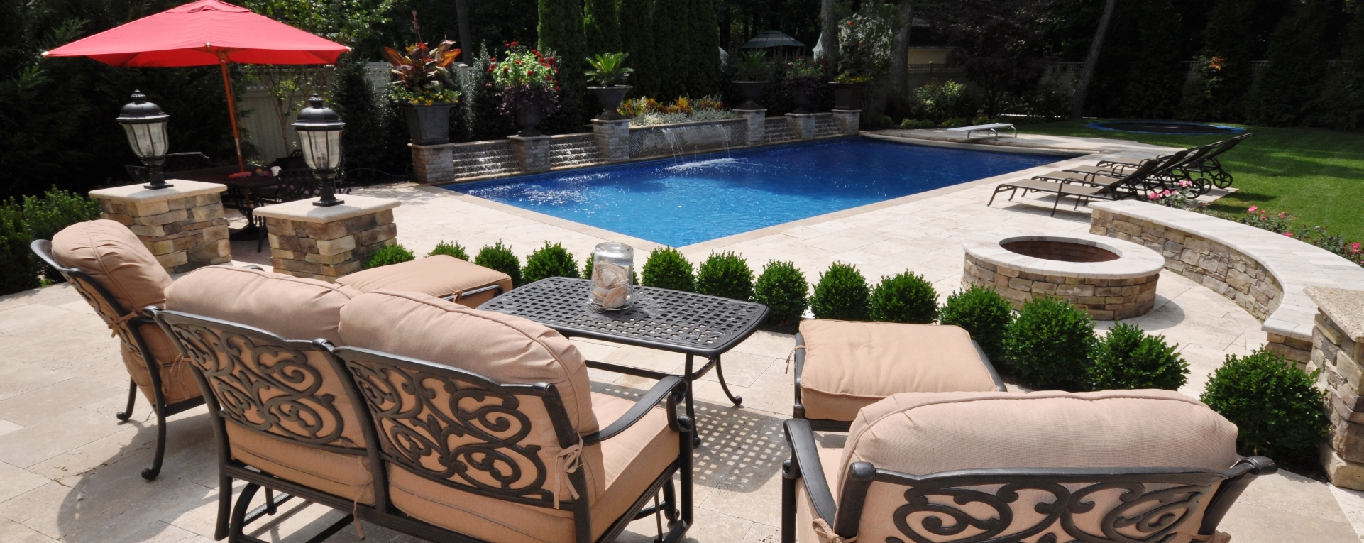 Patio Canopy On Outdoor Furniture And Lovely Long Island