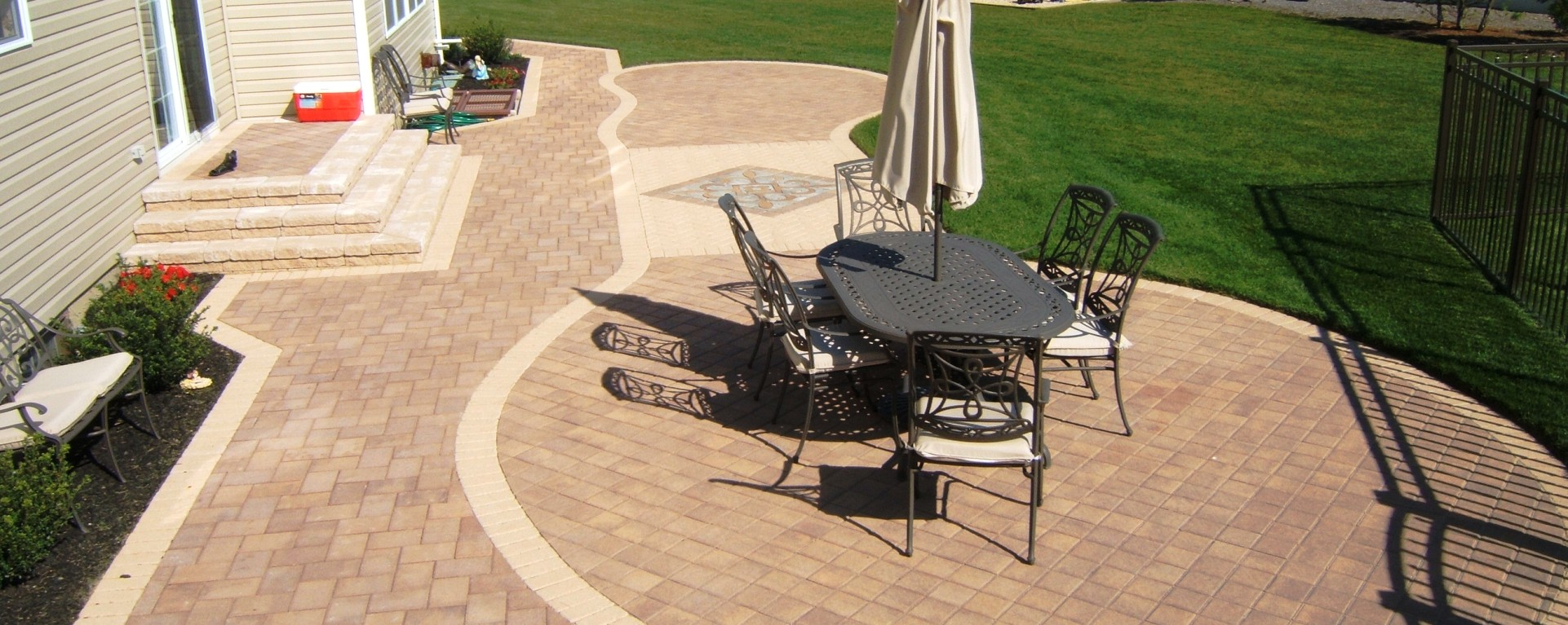Cambridge Pavingstones  Pool Copings  Supplier Installer Long Island NY  Deck and Patio