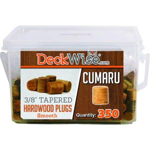 deckwise cumaru hardwood plugs
