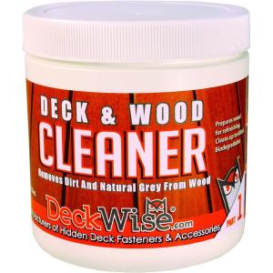 DeckWise Deck and Wood Cleaner Part 1