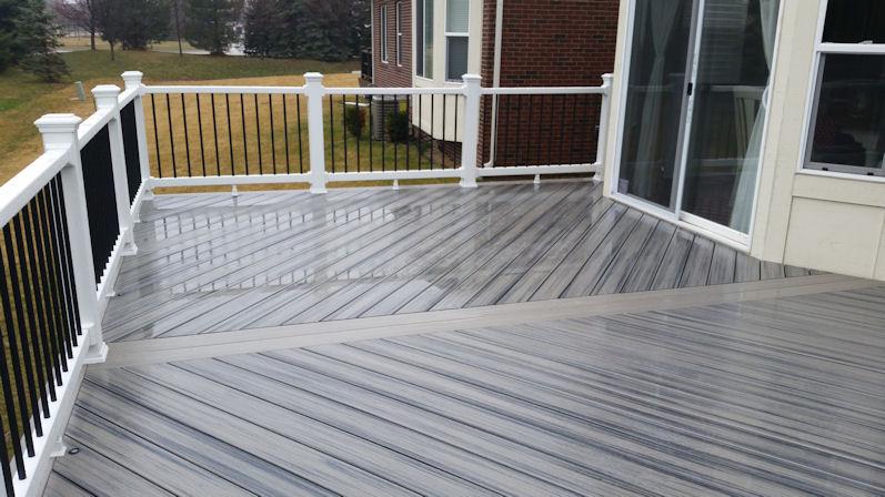 Trex Project Gallery 2  Supreme Deck  Deck Builders Michigan