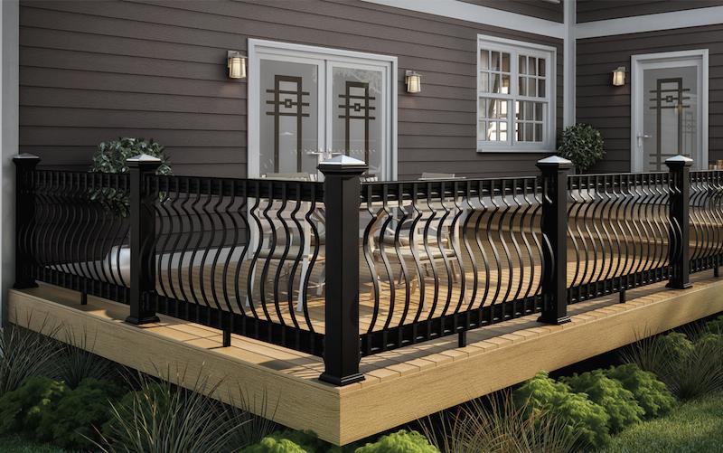 Deckorators Baroque Aluminum Deck Balusters
