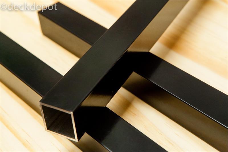 Deckorators 26 Square Estate Balusters  Black