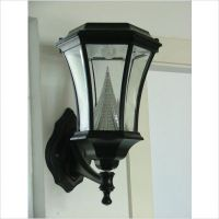 Victorian Solar Wall Lamp