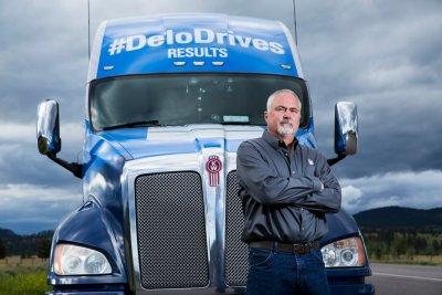 Chevron Delo Truck Mobile Tour Driver