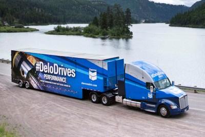 Chevron Delo Truck Mobile Tour