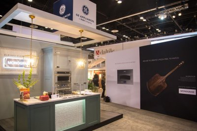GE Appliances National Home Builders Show Interior View