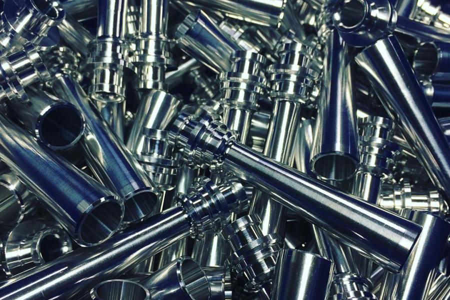 Machined Parts: 6061-T6 Aluminum