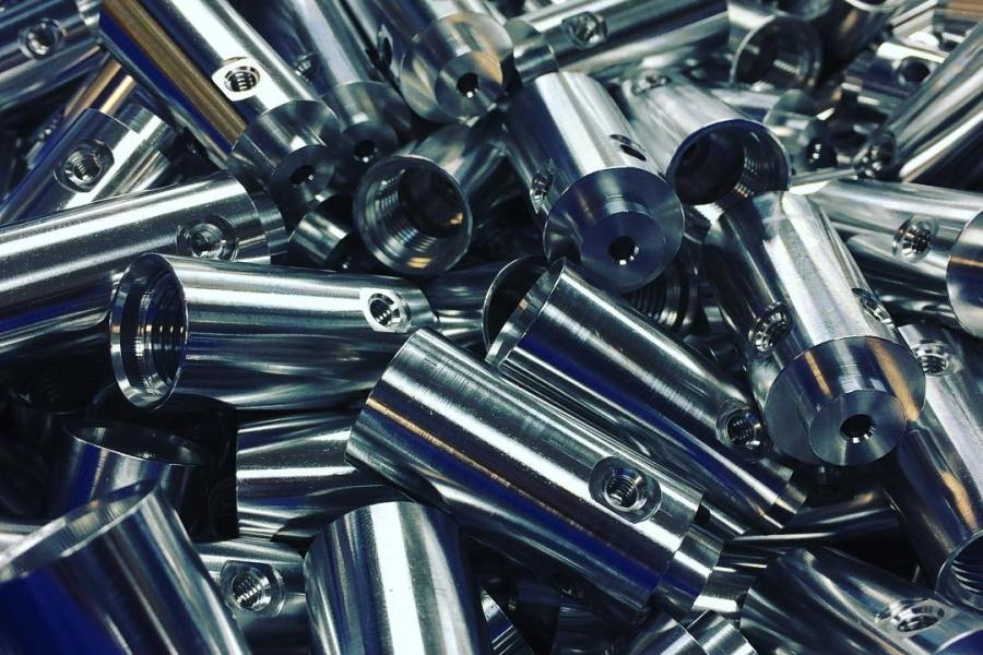 Machined Parts: 7075 Aluminum High Pressure Valves