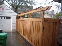 Top Pergola With Privacy Fence Images for Pinterest Tattoos