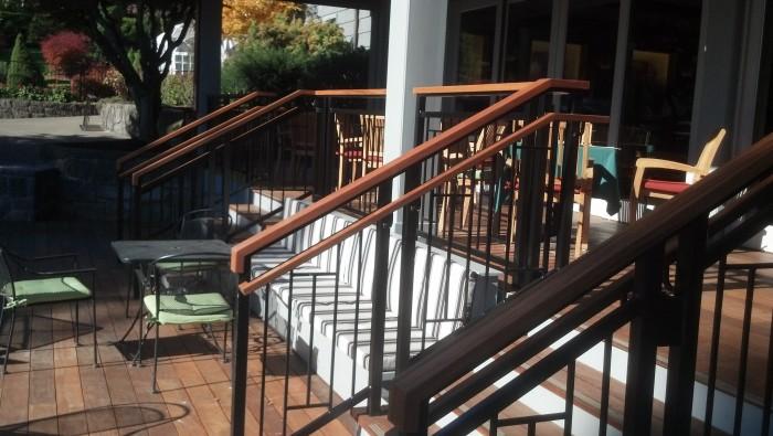 Portland Golf Club Ipe Deck