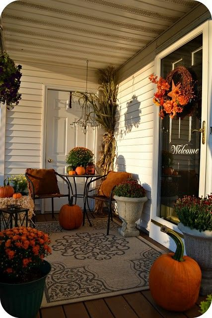 Halloween Deck Decorating Ideas