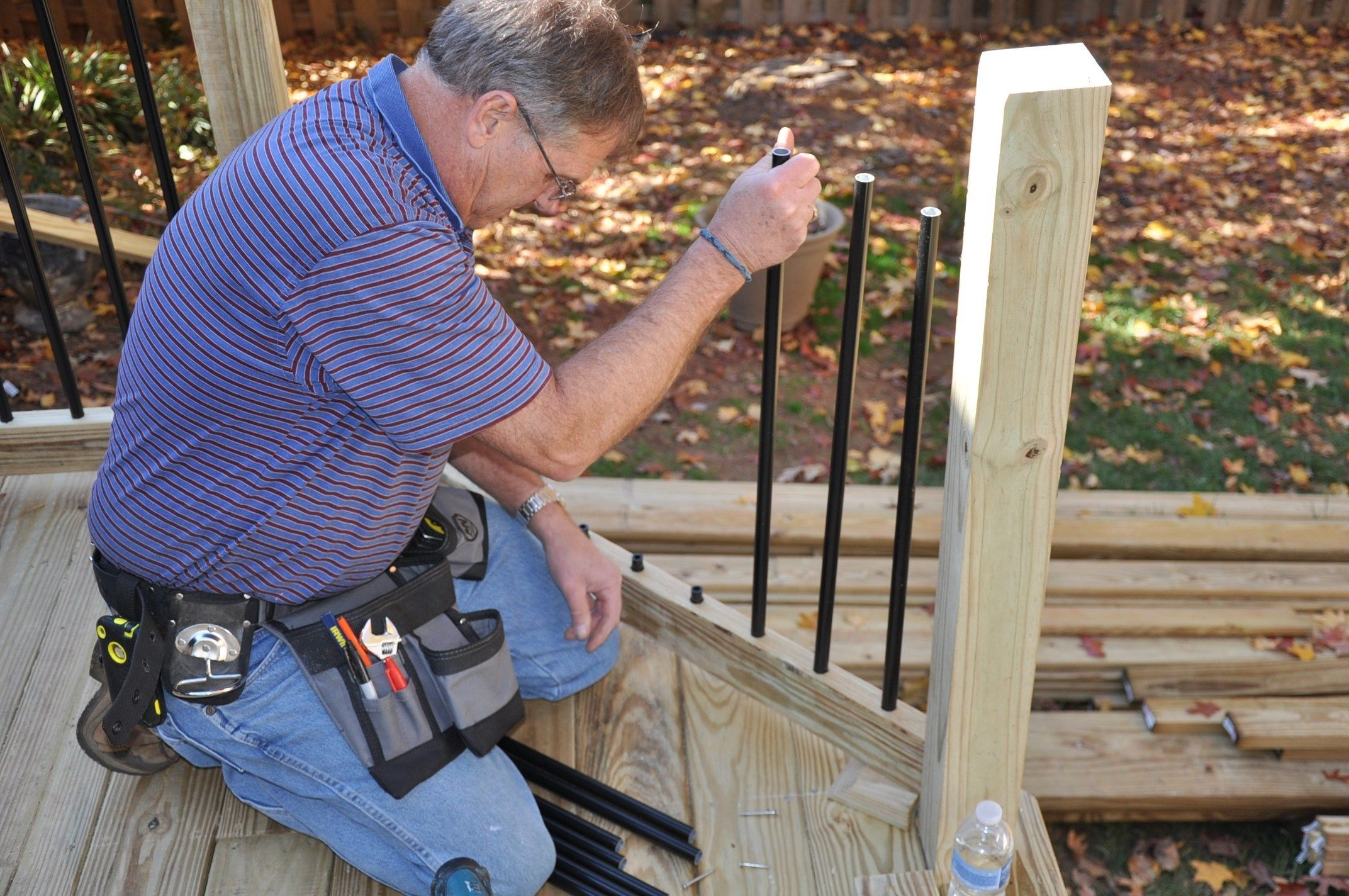 Cedar Handrail Design