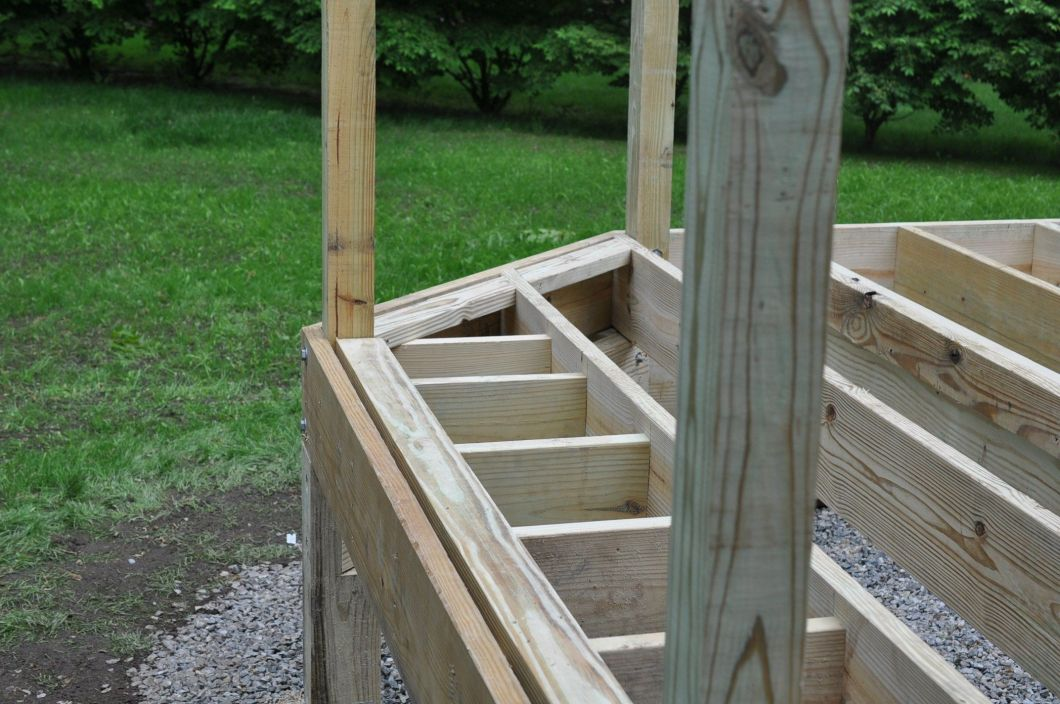 Framing A Picture Frame Deck | Siteframes.co