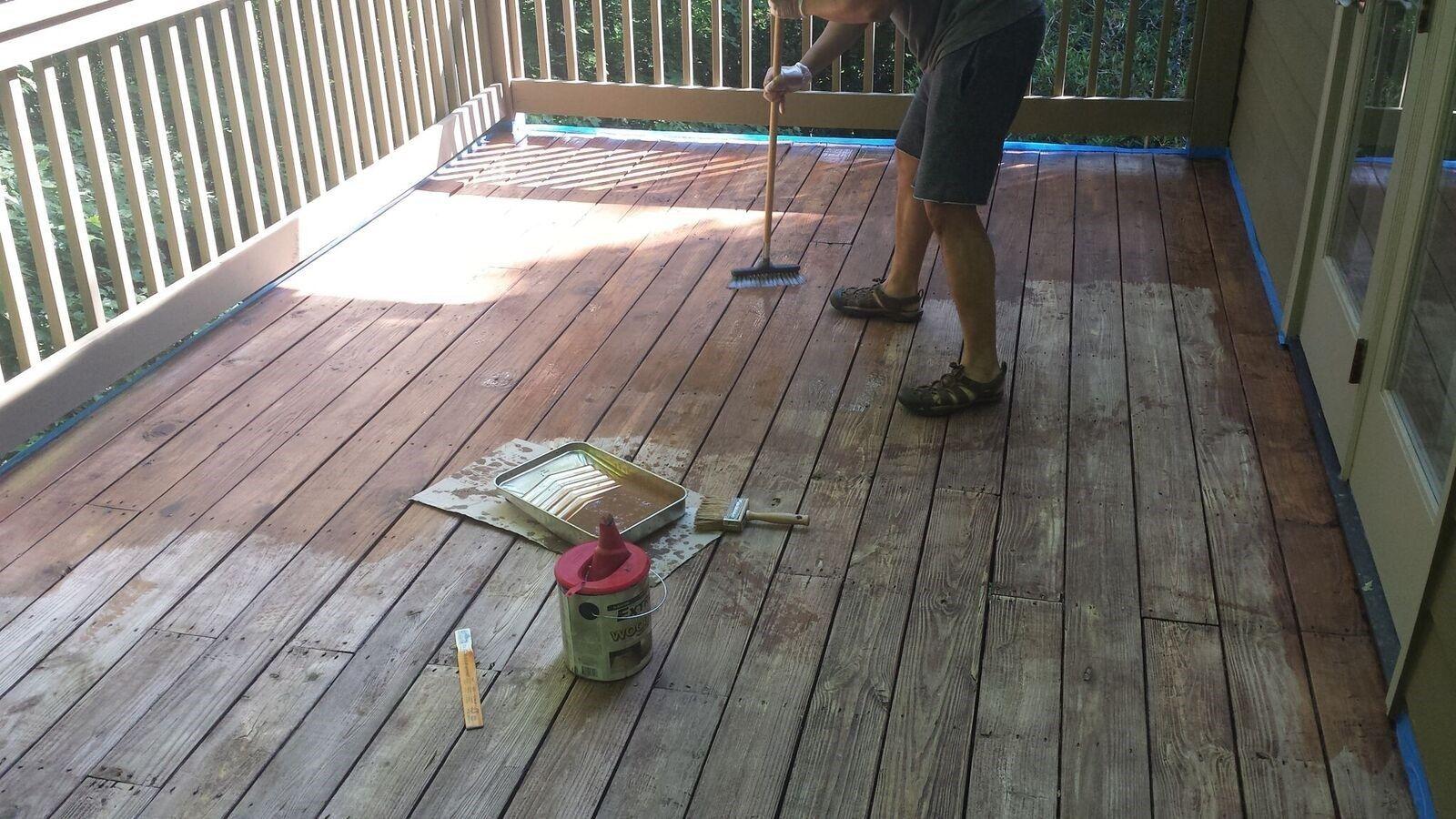Deckscom How To Stain A Deck