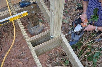 Decks.com. Deck Rail Post Attachment