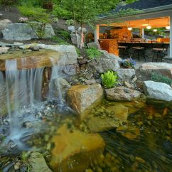 Cost To Build Outdoor Kitchen Lime Green Accessories Decks.com. Ultimate Backyard - Picture 1571