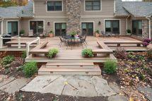 Large Backyard Deck Design Ideas