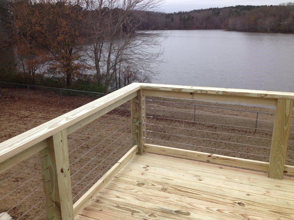 Cable Railing Deck Pictures Ideas Designs Decks Com