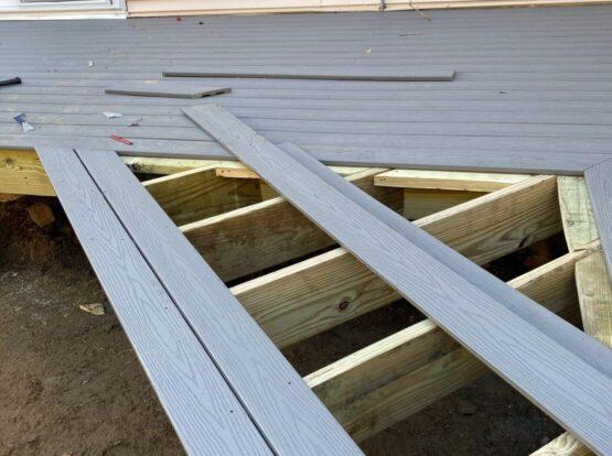 deck installation rogers